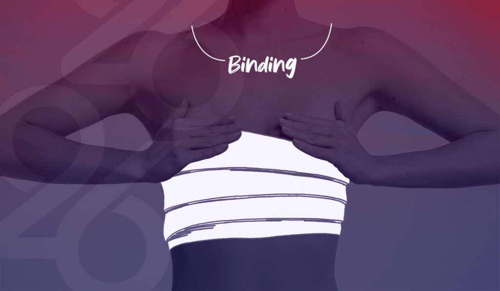 chest binding learn more about 26health transition support