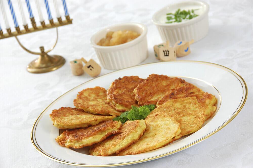 Latkes - Potato pancakes