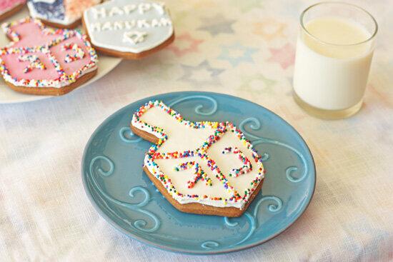 Gingerbread Dreidels -