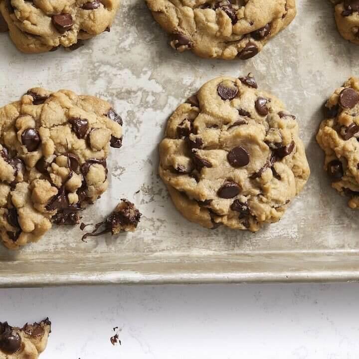 Vegan Chocolate Chip Cookies -