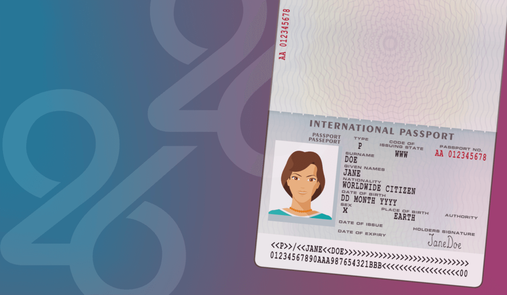the arrival status for gender neutral passports in the us 26health